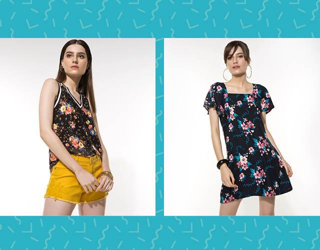 Blusa floral e muita cor: a combinação perfeita para começar o verão no maior astral. #LojasAvenida #SuperVerãoAvenida